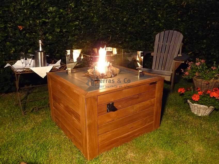 Vuurtafel, Feuertisch, Fire pit table